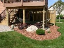 Comfy backyard hammock decor ideas 05