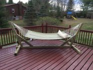 Comfy backyard hammock decor ideas 10