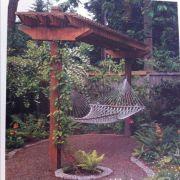 Comfy backyard hammock decor ideas 28