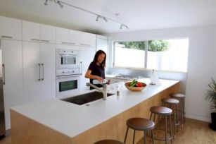 Cool inexpensive kitchen cabinet makeovers 11