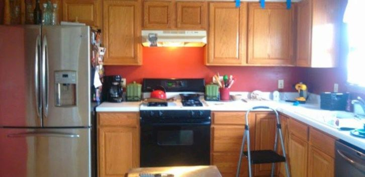 Cool inexpensive kitchen cabinet makeovers 15