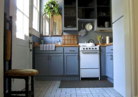 Cool inexpensive kitchen cabinet makeovers 25