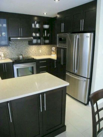 Cool inexpensive kitchen cabinet makeovers 34