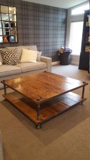 Creative coffee table design ideas for your home 25