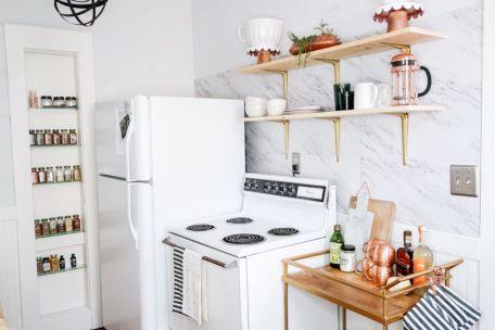 Creative diy easy kitchen makeovers 09