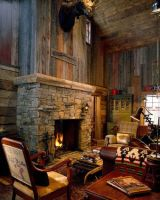 Cute rustic fireplace design ideas 04