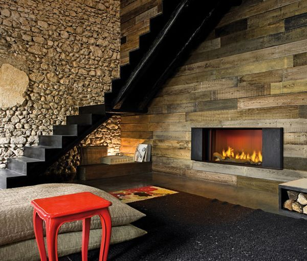 Cute rustic fireplace design ideas 15