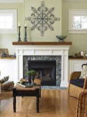 Cute rustic fireplace design ideas 30