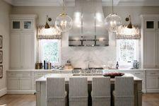 Easy grey and white kitchen backsplash ideas 05