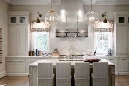Easy grey and white kitchen backsplash ideas 05