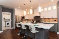 Easy grey and white kitchen backsplash ideas 06