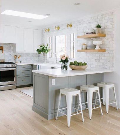 Easy grey and white kitchen backsplash ideas 08