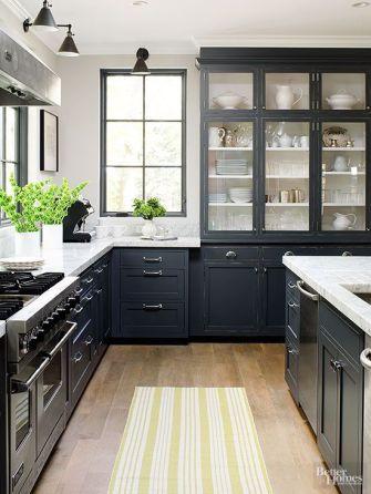 Easy grey and white kitchen backsplash ideas 09