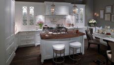 Easy grey and white kitchen backsplash ideas 18