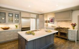 Easy grey and white kitchen backsplash ideas 31