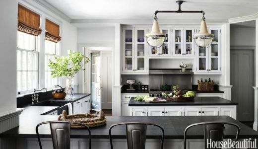 Easy grey and white kitchen backsplash ideas 35