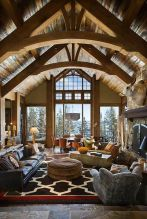 Easy rustic living room design ideas 09