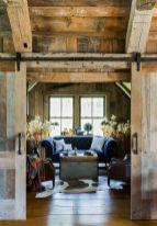 Easy rustic living room design ideas 16