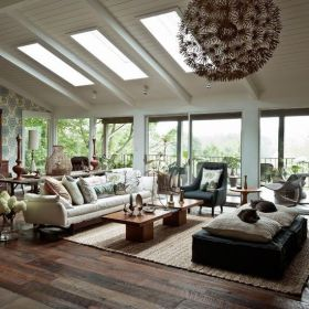 Easy rustic living room design ideas 22