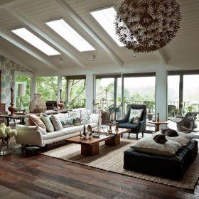 Easy rustic living room design ideas 22