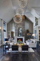 Easy rustic living room design ideas 29
