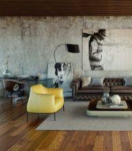 Easy rustic living room design ideas 36