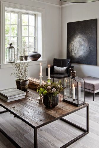 Easy rustic living room design ideas 42