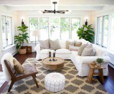 Easy rustic living room design ideas 43
