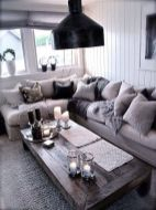 Easy rustic living room design ideas 46