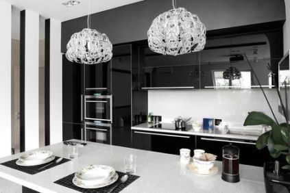 Elegant kitchen ideas with white cabinets 01