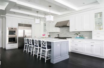 Elegant kitchen ideas with white cabinets 22