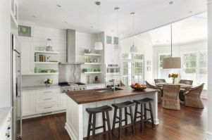 Elegant kitchen ideas with white cabinets 31