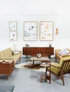 Elegant mid century living room furniture ideas 03