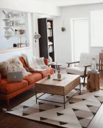 Elegant mid century living room furniture ideas 04