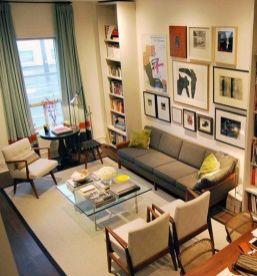 Elegant mid century living room furniture ideas 08