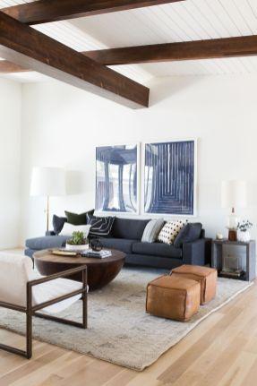Elegant mid century living room furniture ideas 16