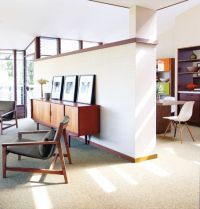 Elegant mid century living room furniture ideas 36