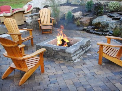 Fancy fire pit design ideas for your backyard home 17