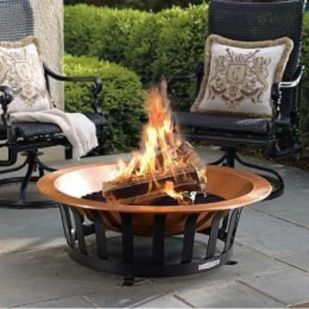 Fancy fire pit design ideas for your backyard home 18