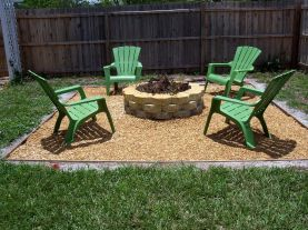 Fancy fire pit design ideas for your backyard home 30