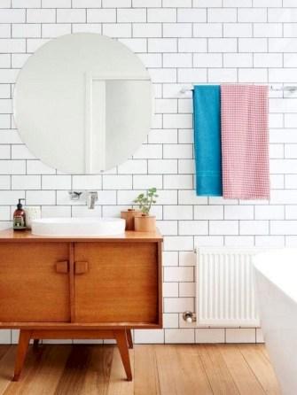 Fantastic mid century modern bathroom vanity ideas 15