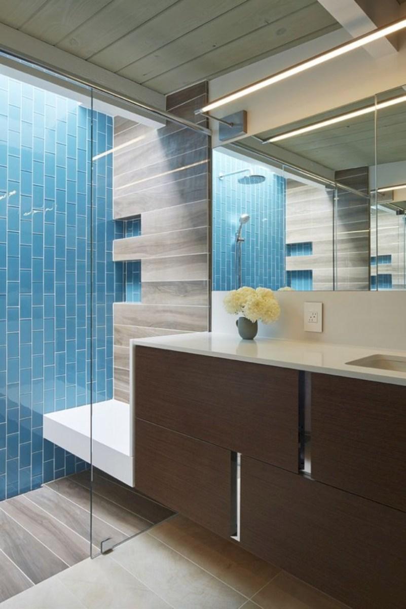 Fantastic mid century modern bathroom vanity ideas 24