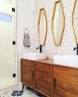 Fantastic mid century modern bathroom vanity ideas 43