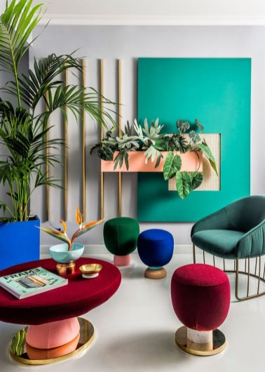 Gorgeous ideas on creating color harmony in interior design 34