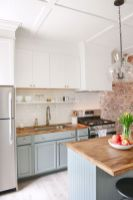 Gorgeous small kitchen makeovers on a budget 20