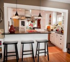 Gorgeous small kitchen makeovers on a budget 21