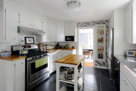 Gorgeous small kitchen makeovers on a budget 24