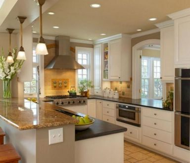 Gorgeous small kitchen makeovers on a budget 33