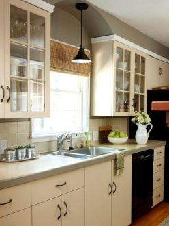 Gorgeous small kitchen makeovers on a budget 34