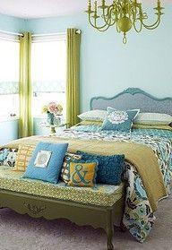 Impressive colorful bedroom ideas 30